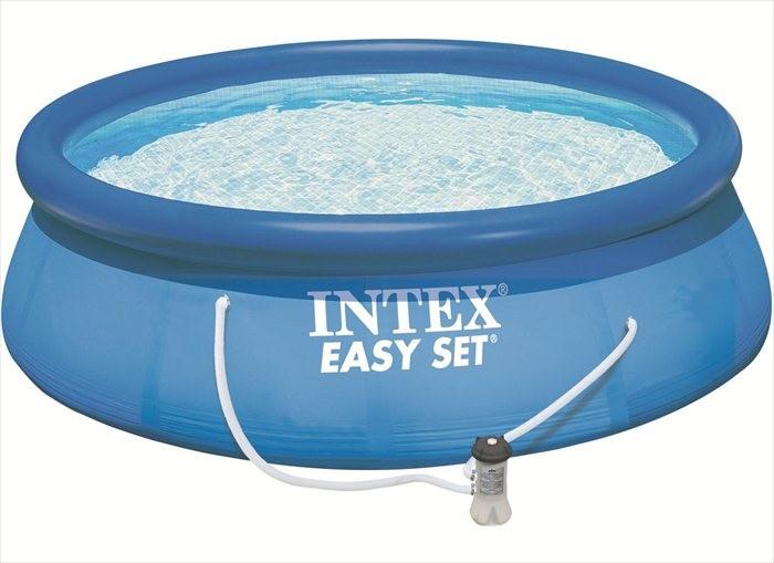 Intex easy set zwembad 396 x 84 for Filterpomp zwembad intex