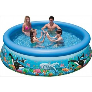 Easy Set Oceaanprint zwembad