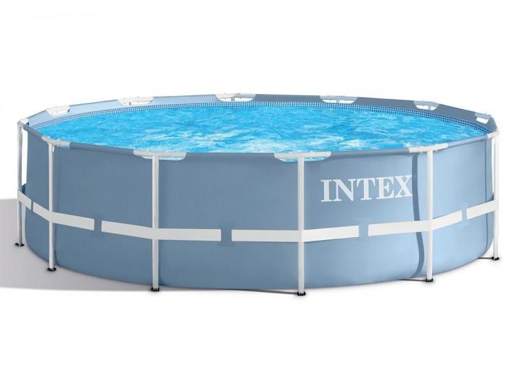 Intex prism frame zwembad 366 x 76 cm zwembadgigant for Intex zwembad verkooppunten