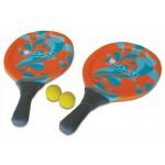 Beachball tennis set