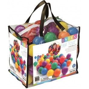 Intex speelballen 100 stuks.
