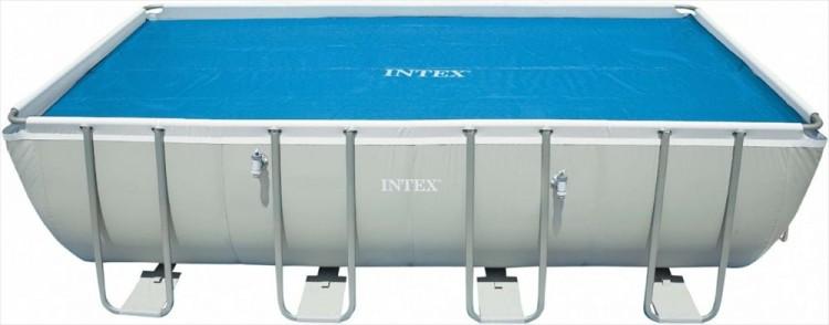 Intex solarzeil 7 32 x 3 66 meter zwembadgigant for Zwembad rond 3 meter intex