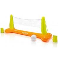 Opblaasbaar volleybal net