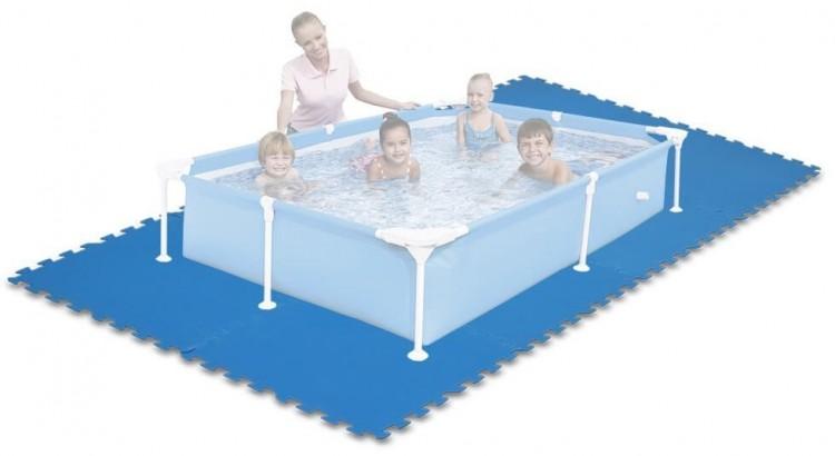 Comfortpool zwembad isolatiematten for Ondervloer intex zwembad