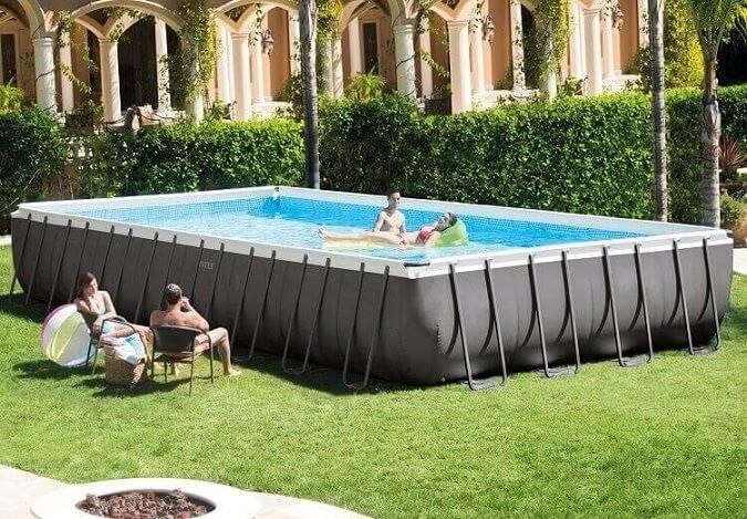 Intex ultra frame zwembad 975x488x132 cm zwembadgigant for Zwembad intex