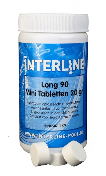 Interline Chloortabletten 90Long 20gr/1kg