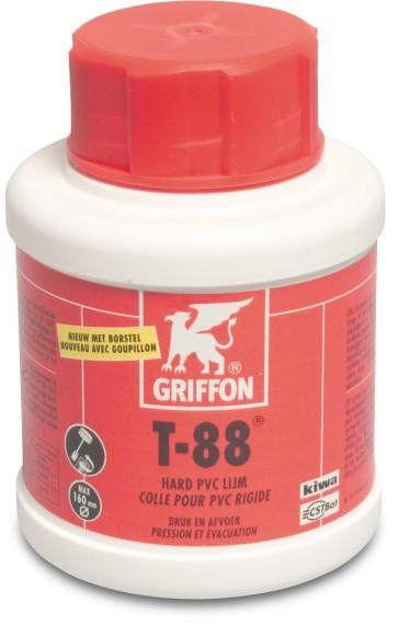 Griffon PVC-lijm 0,25ltr met kwast