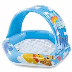 Babyzwembad met zonnedakje