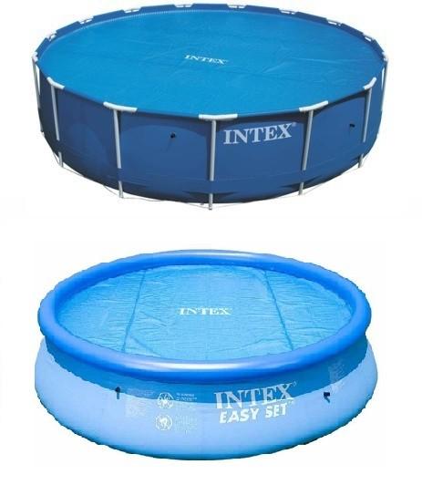 Intex solarzeil 3 66 meter zwembadgigant for Zwembad rond 3 meter intex