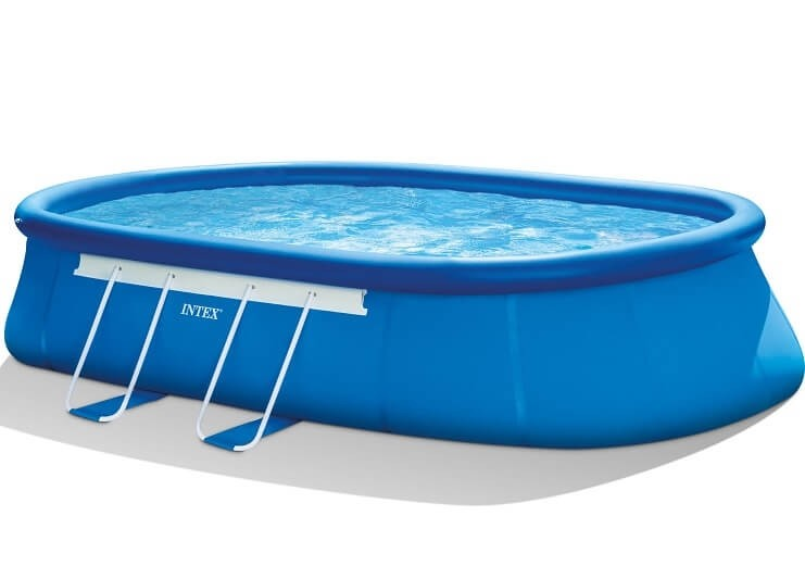 Intex oval frame zwembad 610 x 366 x 122 cm zwembadgigant for Intex ovale