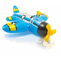 Intex opblaasbaar propellervliegtuig blauw