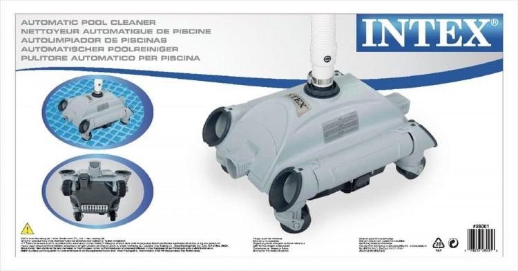 Intex zwembad stofzuiger zwembadgigant for Robot piscine intex 28001