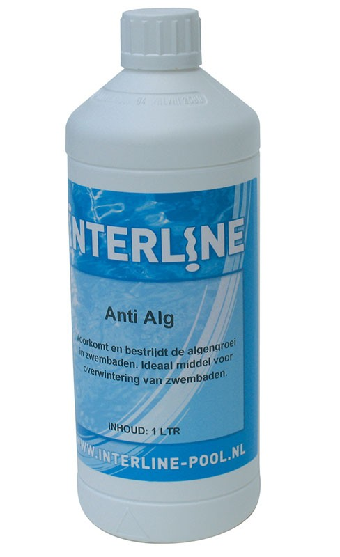 Bekend Interline Anti Alg 1 liter - Zwembadgigant BB72