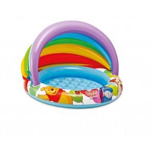 Winnie the pooh baby zwembad met kap