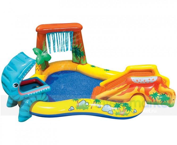 Dinosaurus zwembad speelcentrum bij zwembadgigant for Piscine dinosaure