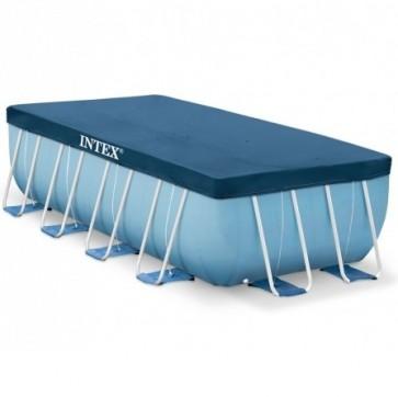 Afdekzeil voor Intex Frame zwembaden 400 x 200 cm
