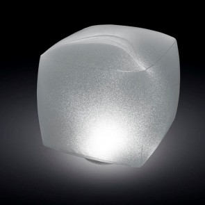 Floating LED light cube