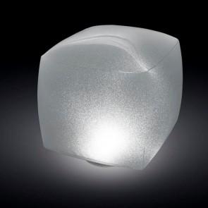 Floating LED light cube