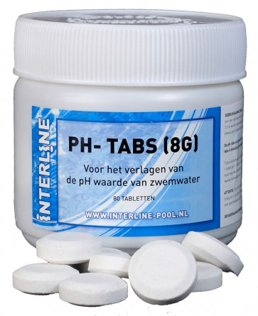 Interline PH-Min Tabs 8 gram/80 stuks