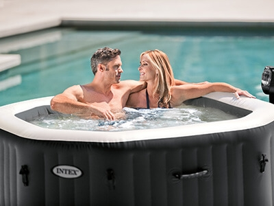 Intex Bubble & Jets Deluxe jacuzzi