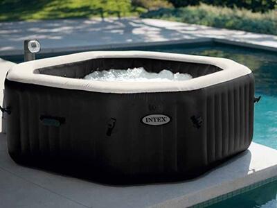 Intex PureSpa Deluxe opblaasbare spa