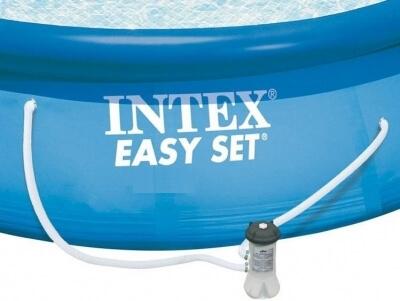 Intex zwembad met filterpomp