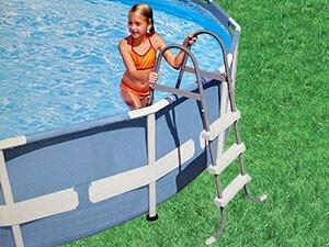Intex zwembadladder