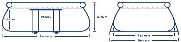 Oval Frame 549x107