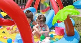 Intex opblaasbaar speelzwembad