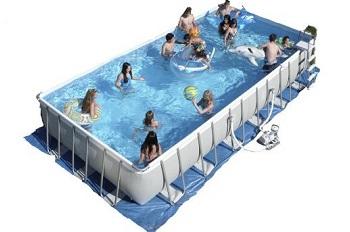 Intex Ultra Frame Zwembad voor jarenlang zwemplezier